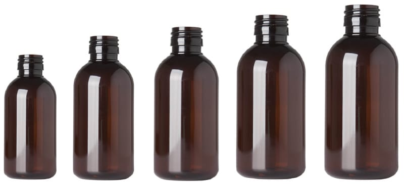 Delta PET Syrup bottles produced by INDEN Pharma under cleanroom conditions<br>