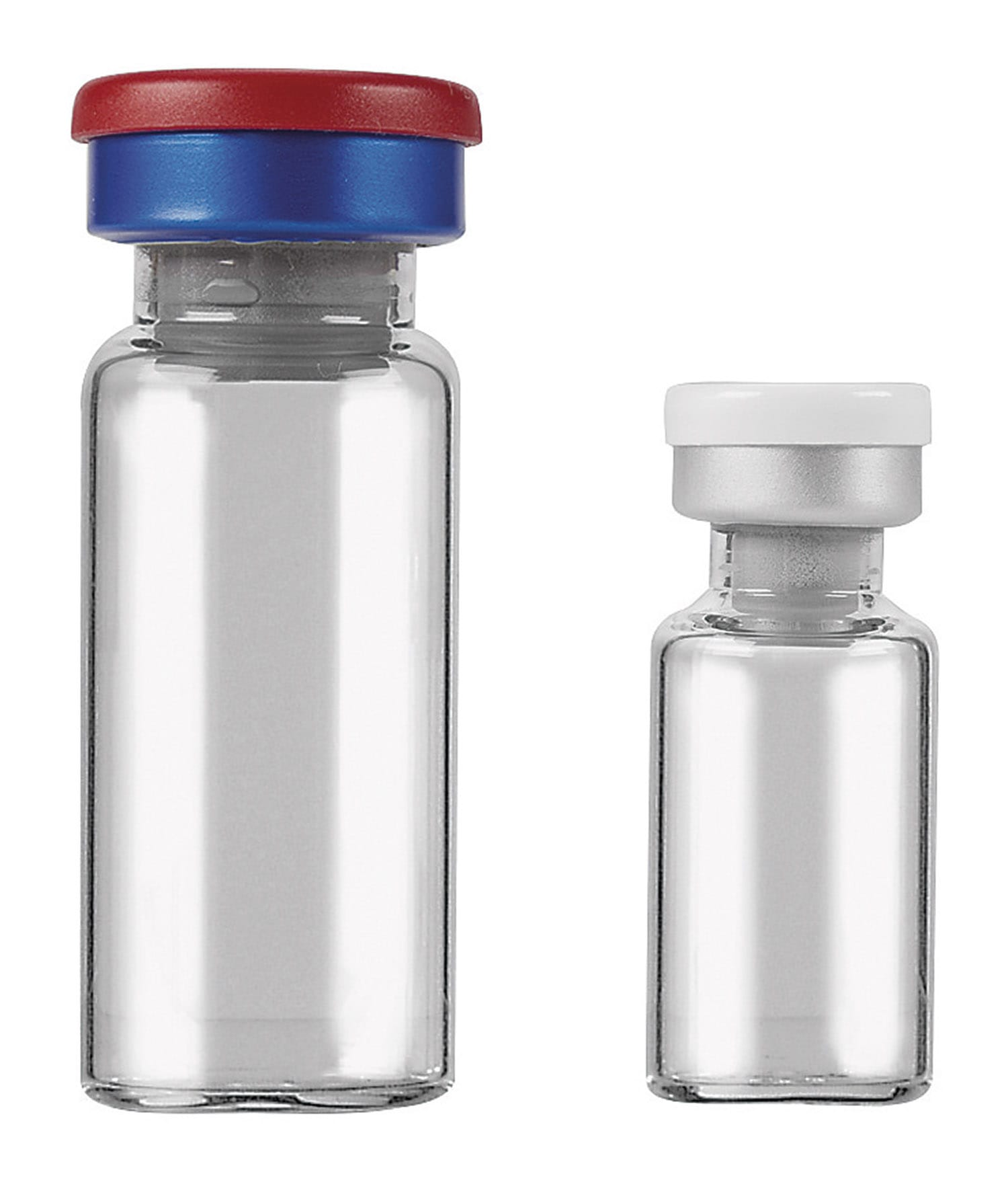 Sterile Glass Vials in 10ml and 2ml sizes